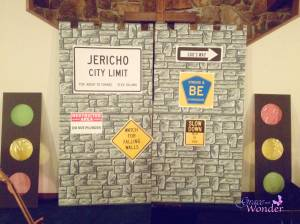 Going God's Way VBS- Jericho Wall Backdrop